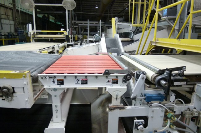 Tarkett Industries – Vinyl processing scrap handling system